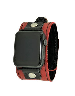 NAN Apple Watch Band - Red & Black