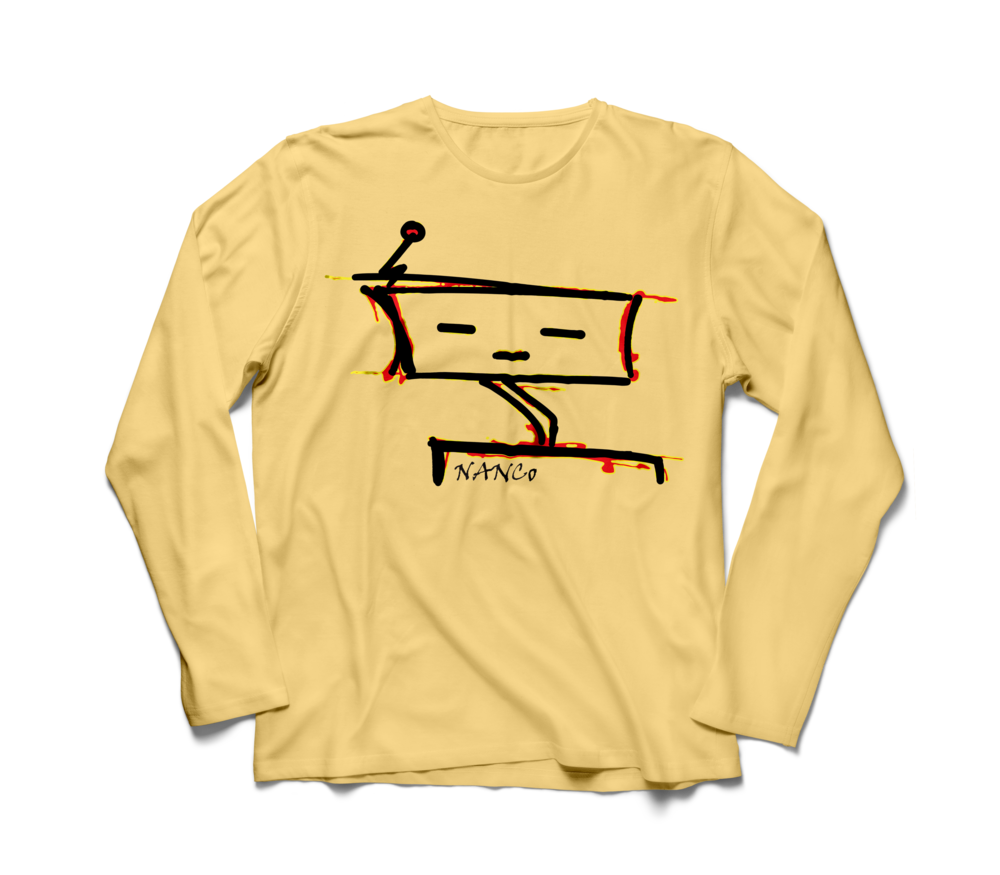 NANCoBot Long Sleeve Tee