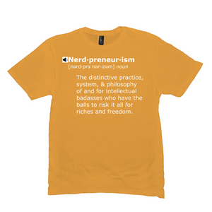 Nerdpreneurism Definition - T-Shirt