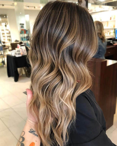 bronde fall hair color