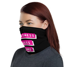 Load image into Gallery viewer, Ladies Greatness Takes Time Neck Gaiter