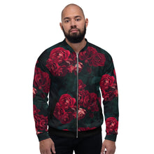Load image into Gallery viewer, Limited Edition Designer Dozen of Roses Bomber Jacket