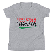 Load image into Gallery viewer, Youth Generational Wealth T-Shirt