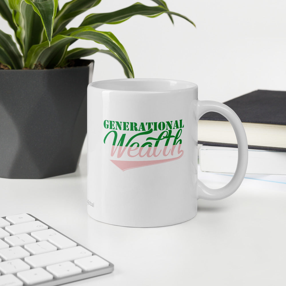 Generational Wealth Mug (Pink)