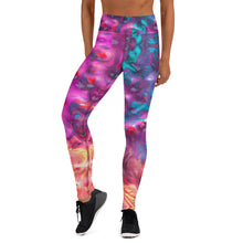 Load image into Gallery viewer, Paint Spill Yoga Leggings
