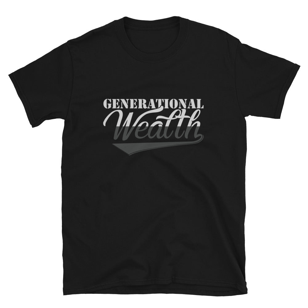 Generational Wealth T-Shirt (Grey)