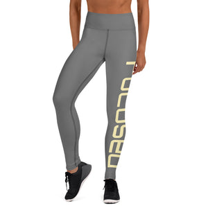 Grey Focused Yoga Leggings