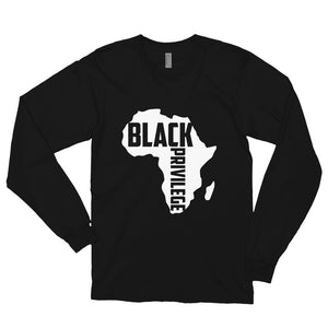 Black Privilege Long SleeveTt-shirt