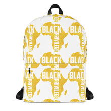 Load image into Gallery viewer, Black Privilege Gold Backpack