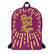 Load image into Gallery viewer, Black Girl Magic Backpack