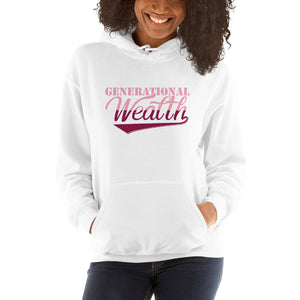 Ladies Generational Wealth Hoodie (Pink)
