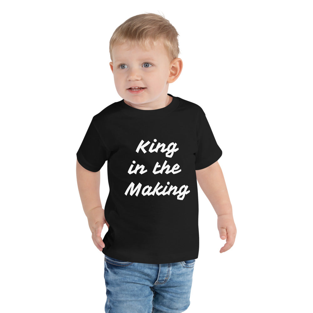 Toddler King in the Making SS Tee