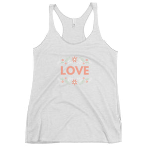 Women's Love Racerback Tank
