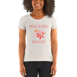 Melanin Magic Ladies' short sleeve t-shirt