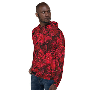Limited Edition Red Rose Hoodie