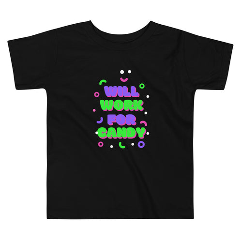 Toddler Work for Candy Tee