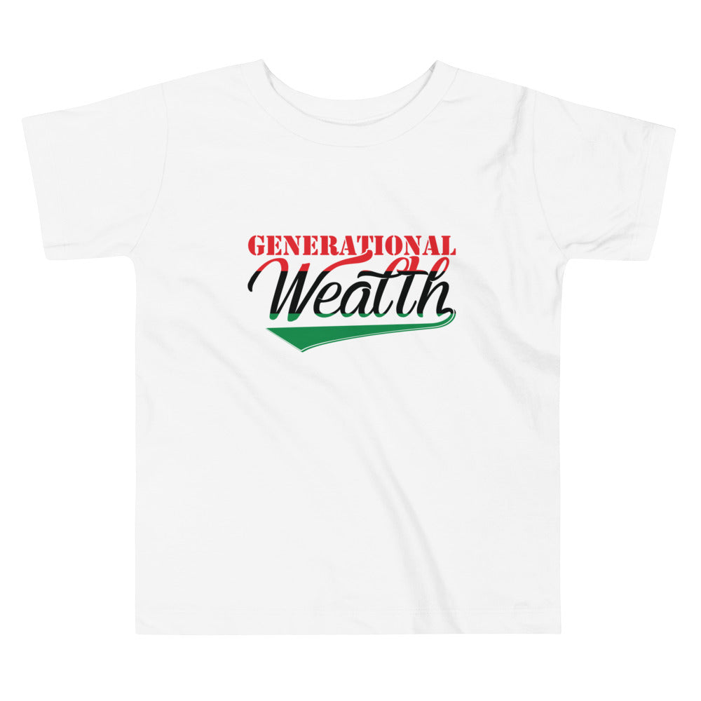 Generational Wealth Toddler Tee (Boys)