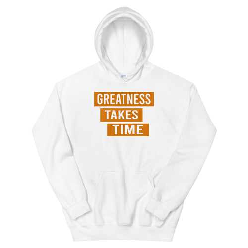 Greatness  Hoodie (Orange)