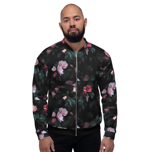 Limited Edition Designer Rose Garden Bomber Jacket