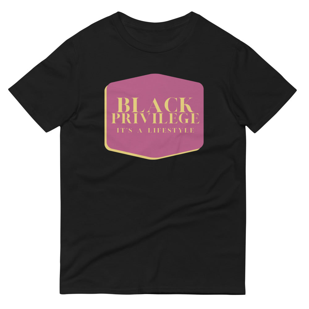 Black Privilege Lifestyle T-Shirt