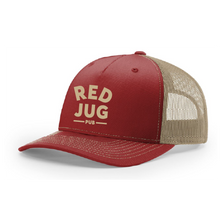 Load image into Gallery viewer, Red Jug Panel Trucker Hat