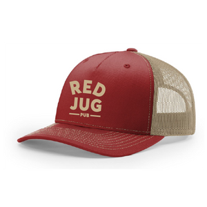 Red Jug Panel Trucker Hat