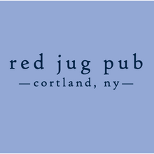 Load image into Gallery viewer, Red Jug Pub Cortland Drink Like a Fish Winter Long Sleeve