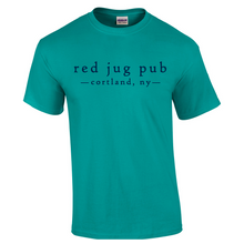 "Load image into Gallery viewer, Red Jug Pub Cortland ""Drink Like A Fisherman"" T-Shirt"