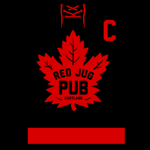 Red Jug Pub Cortland Leafs Long Sleeve T-Shirt