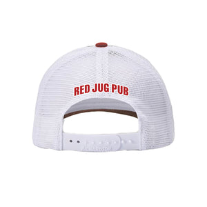 Red Jug Pub Devil Trucker Hat