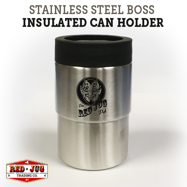 Red Jug Stainless Steel Boss Insulated Can Holder