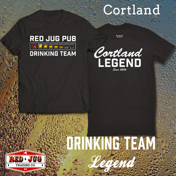 Red Jug Pub Cortland Legend