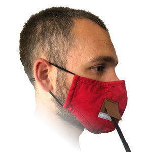 Red Jug Pub Face Mask with Straw Hole
