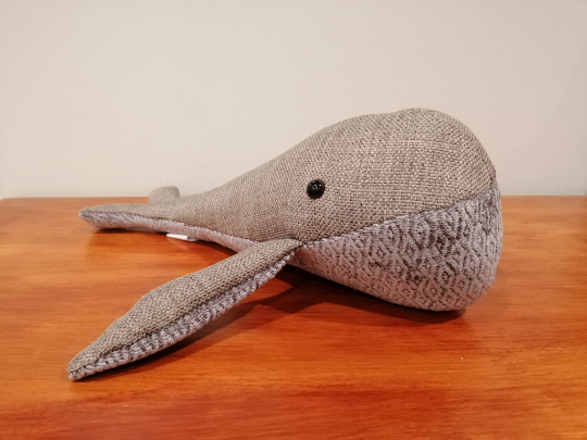 Handmade Right Whale Soft Toy