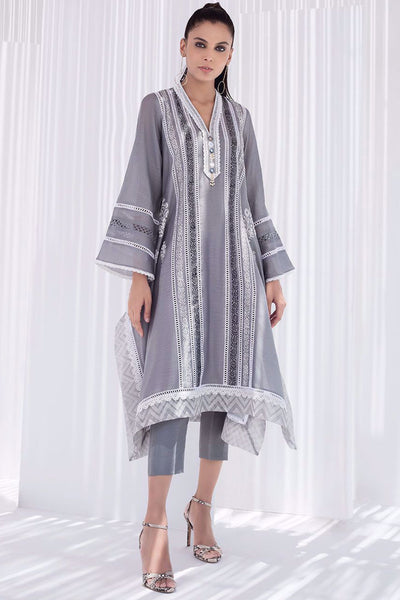 BOX CUT BLOCK PRINTED KURTA - Sania Maskatiya