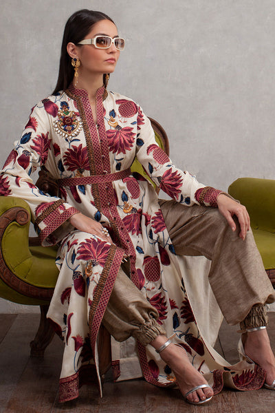 CHINTZ LUXURY COAT - Shamaeel Ansari