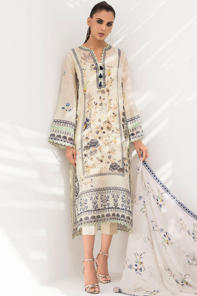 COTTON NET PRINTED KURTA - Sania Maskatiya