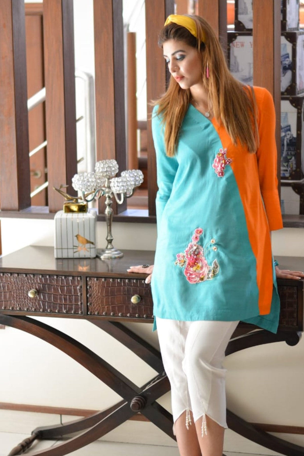 Colour Blocked - Madiha & Rabbia