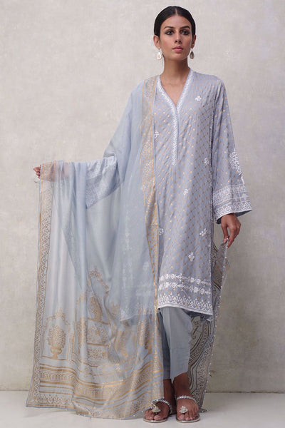 MN-1119-BP-S-44-ICE BLUE - Nida Azwer