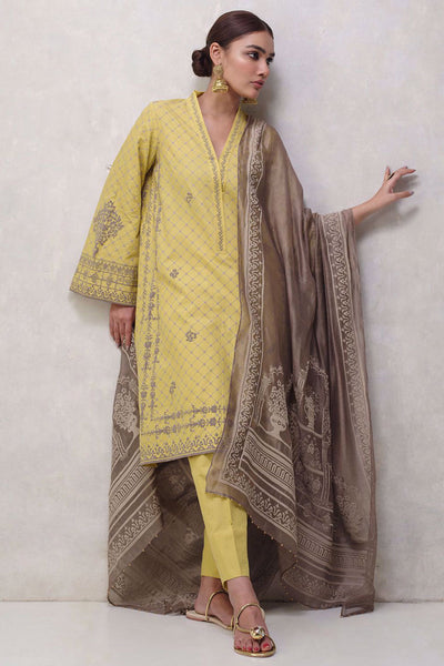 MN-1119-BP-S-44-YELLOW - Nida Azwer