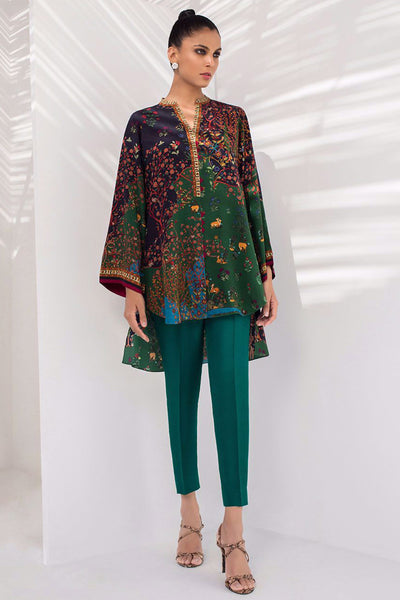 CREPE DIGITALLY PRINTED KURTA - Sania Maskatiya