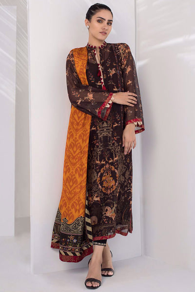 PRINTED KURTA WITH DUPATTA - Sania Maskatiya