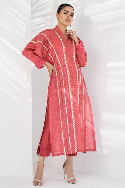 LONG KURTA WITH BATWING SLEEVES - Sania Maskatiya