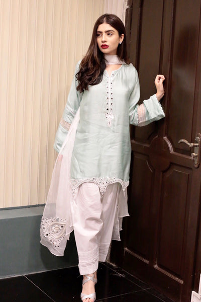 Cotton Net Kurtas