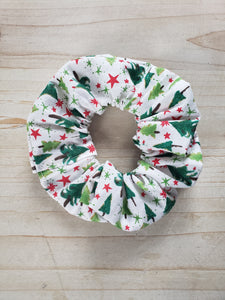 Christmas Tree Scrunchie