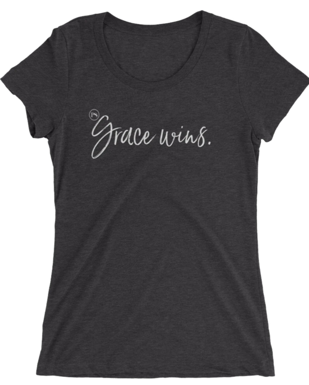 Pretty Simple Grace Wins Graphic Tee
