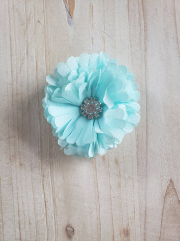 Jewel Hair Clip- Light Blue