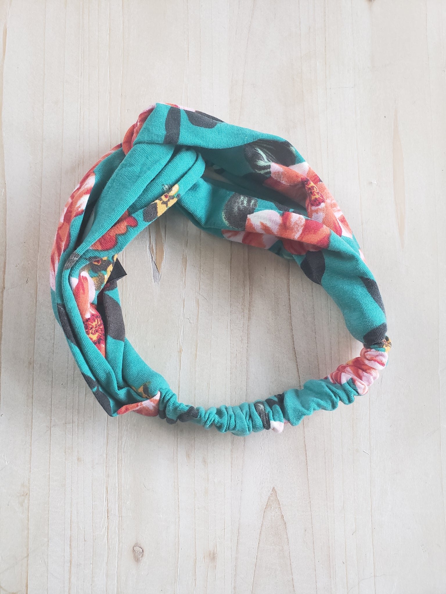 Knotted Headband-Pretty Simple- Tropical