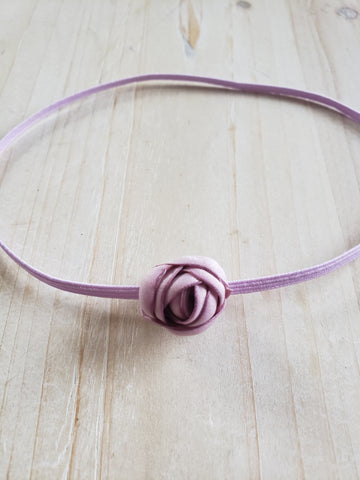 Infant Stretch Headband- Lilac