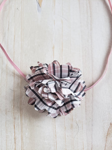 Burberry Themed Infant Headband